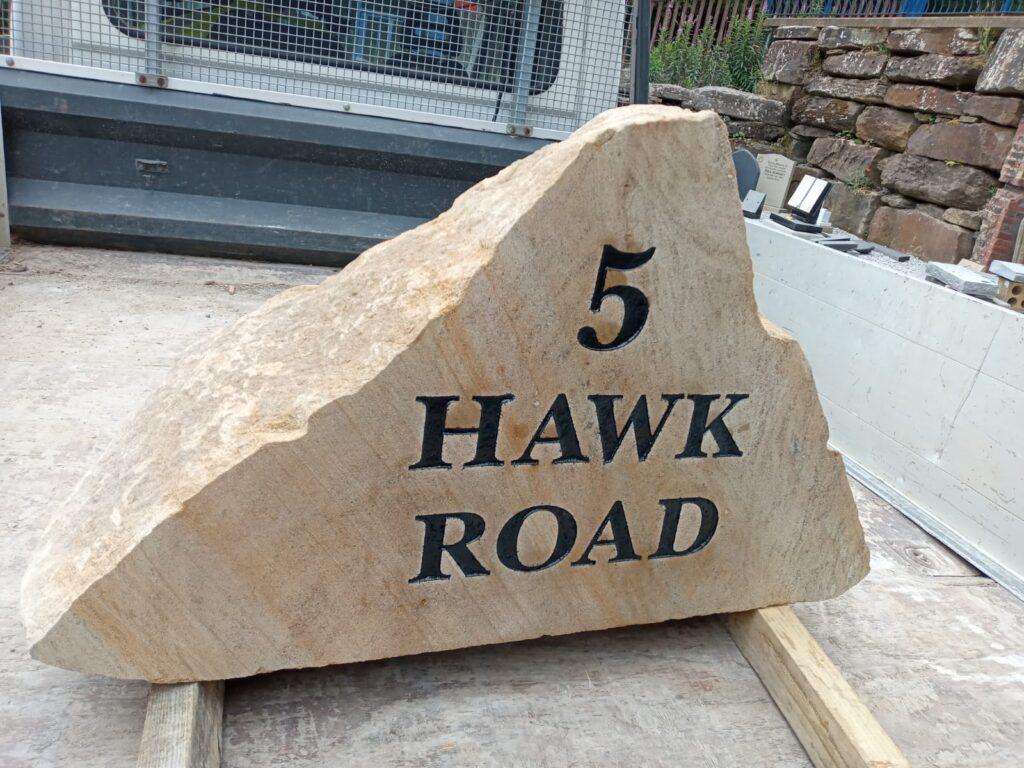 Yorkshire Stone Signs - Handmade Stone Sign